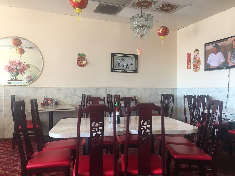 Interior of Maxim's Seafood Restaurant