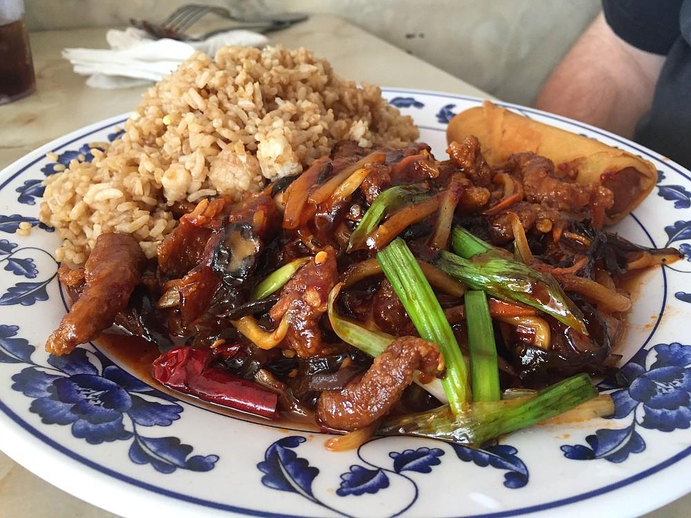 Szechuan Beef lunch special