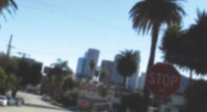 """Exploring residential streets in """"Eastside"""" L.A."""