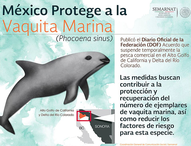 Ban information ssued by the Mexican government's environmental agency