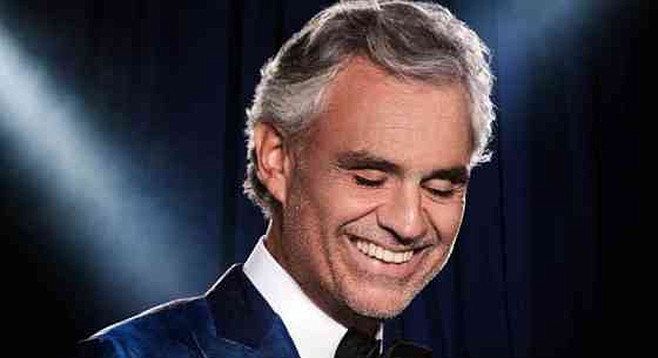 Andrea Bocelli, classical pop and opera at Valley View