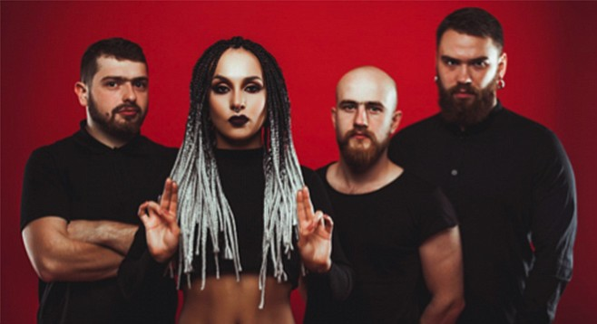 Ukrainian heavy-metallers Jinjer hit HOB