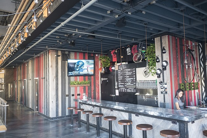 Thorn's Barrio Logan location is bigger, but its tasting room is smaller.