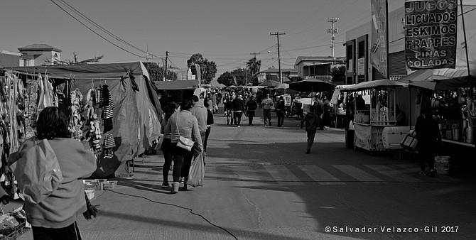 Neighborhood Photos Tijuana,Baja California,Mexico At the open air market
