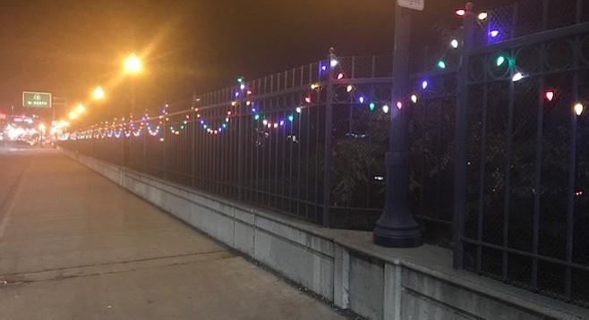 Adams Avenue Christmas lights