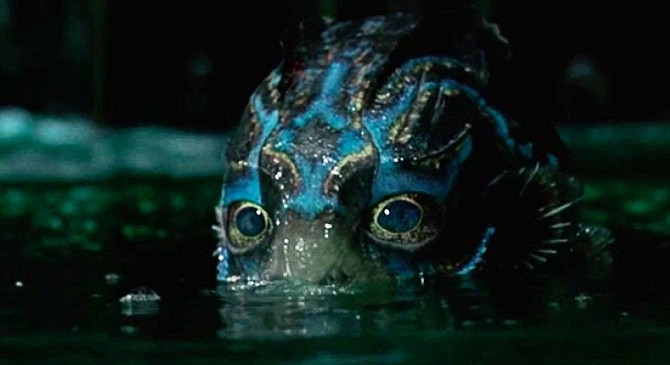 The Shape of Water: Guillermo del Toro gets us up close and very personal with his latest monster.