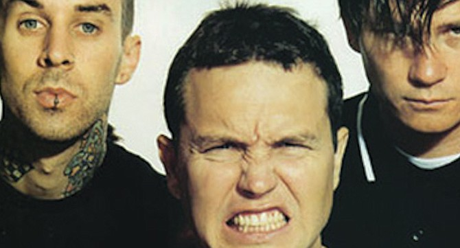 The potty-mouthed pop-punk band from Poway, blink-182