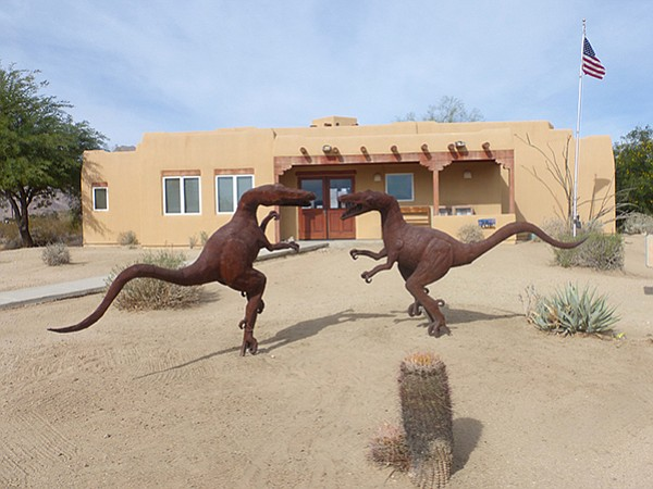 Fighting velociraptors