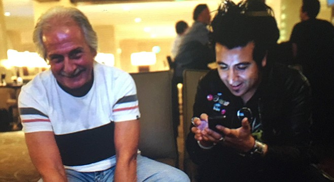 Pete Best and Christopher Leyva