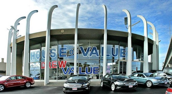 San Diego Ford Dealers >> Wrecking Ball Target Drew Ford Roundhouse San Diego Reader