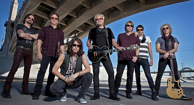 Foreigner and Whitesnake. It's hard to fathom the fact that Whitesnake scored one of their biggest hit records in 2015 (!).