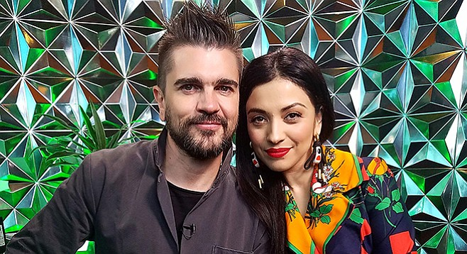 Juanes and Mon Laferte. If you miss them at SDSU, they'll all be back a few days later.