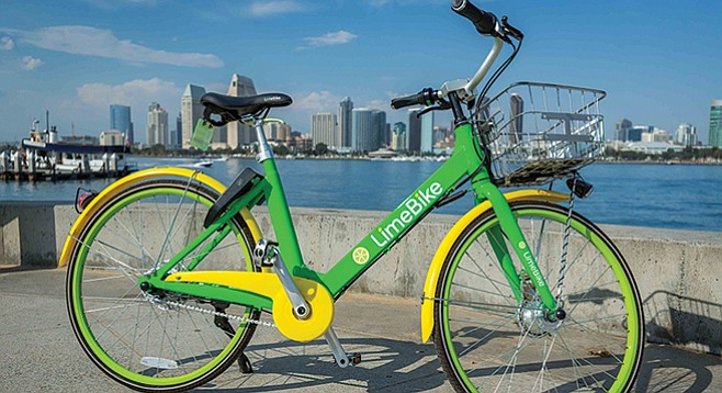 Dockless bikes and hepatitis | San Diego Reader
