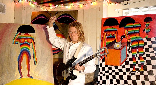 Ty Segall's first local appearances were in 2010, at Bar Pink and then the Soda Bar.