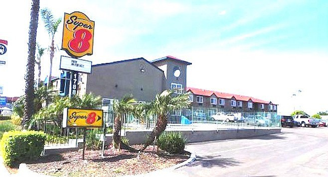 Police calls to the Super 8 off Palm Avenue averaged two per month over a 21-month period.