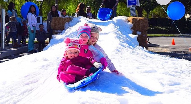 Will Golden Hill kids enjoy their last Winter Play Day this Saturday?