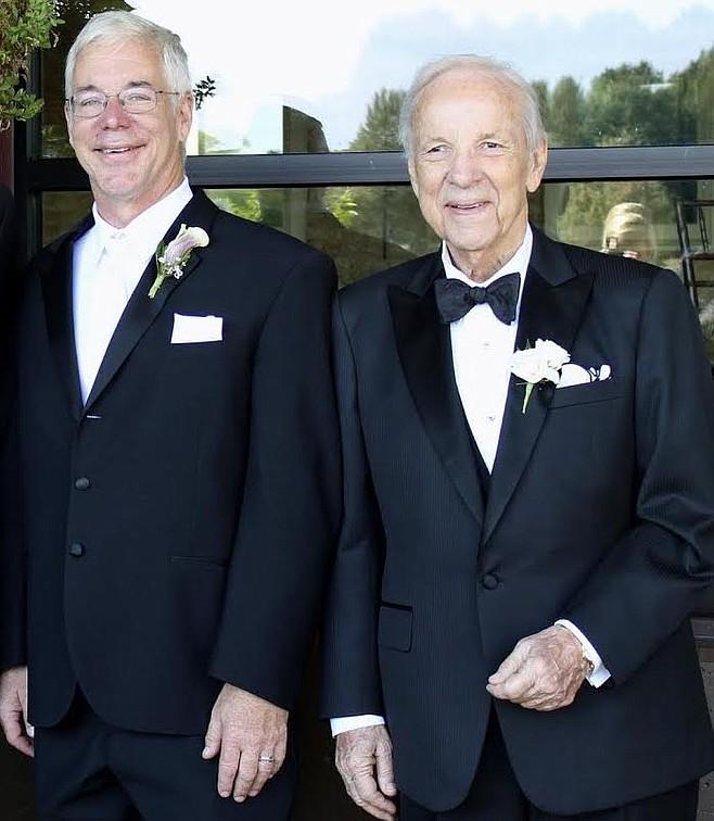 Eric and Conrad Prebys