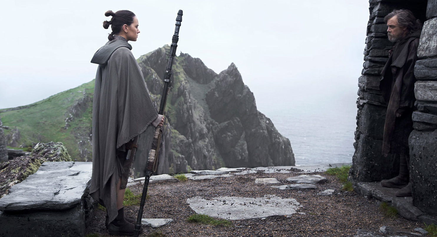 """""""You haven't caught the hype around The Last Jedi? Have you been living under a rock on a deserted island or something?"""""""