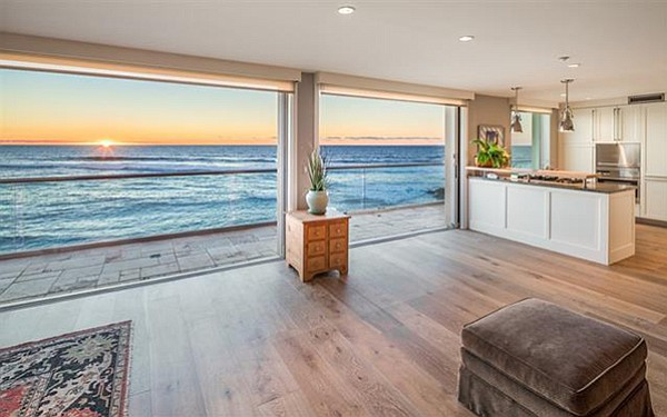 The complex, comprising 13 units, offers direct beach access