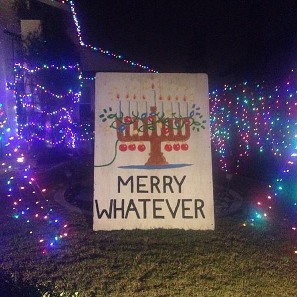 Christmas Card Lane.The Most Audacious Neighborhood Displays Of Christmas Cheer