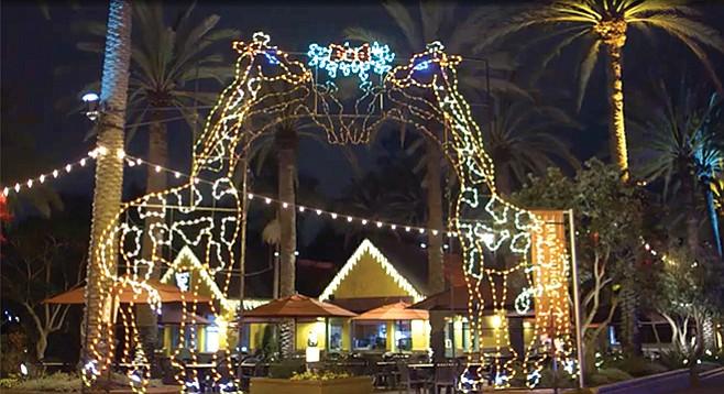 San Diego Christmas Lights.The Most Audacious Neighborhood Displays Of Christmas Cheer