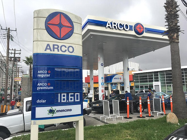 Arco Gas >> Foreign Gas Stations Opening Up To Mexico San Diego Reader