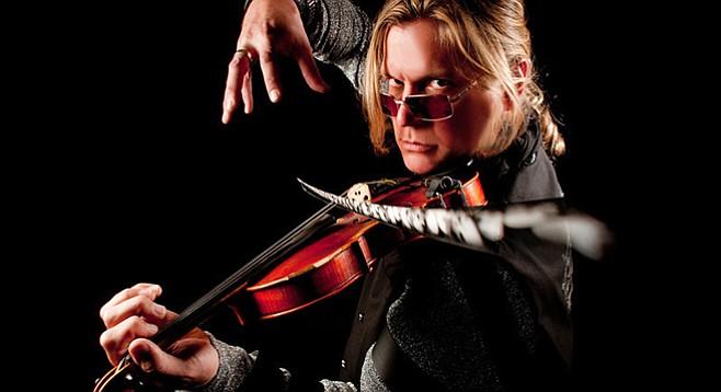 Alex DePue deals in the possibilities of his instrument.