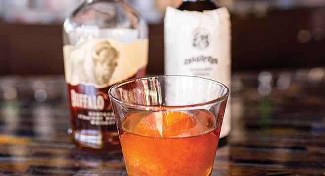 The New Fashioned starts out cold and bold.
