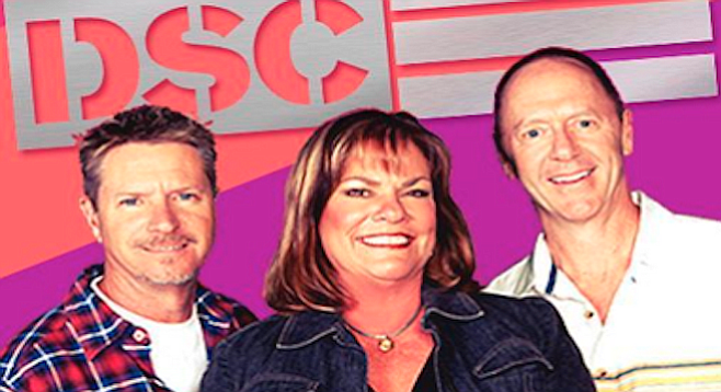 Dave, Shelly, and Chainsaw do radio. Virginia-based Tegna only does TV.