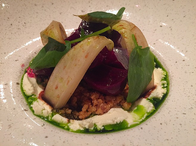 A Roasted Beet Salad to remember