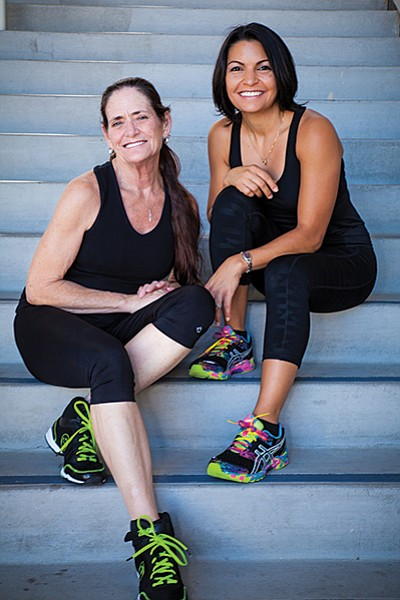 Lauri McNally and Nicole Johnson, owners of Move Fitness & Dance