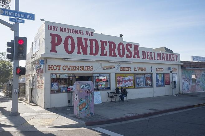 A corner store and deli in Barrio Logan