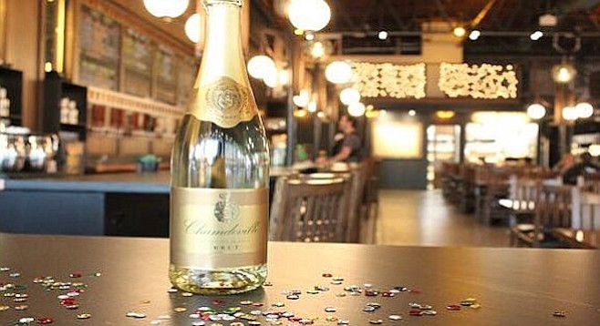 North Park Beer Co.'s champagne toast is at 9 p.m.