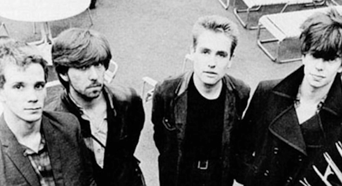 Echo and the Bunnymen from their 1981 album Heaven Up Here