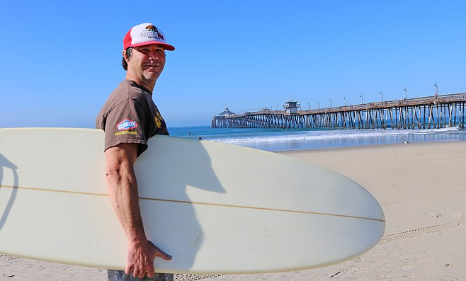 """Peter Ramseier: """"In 1997 I hit the bottom and it drug me along the sand for about 200 yards."""""""