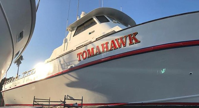 The Tomahawk was originally built in 1980.