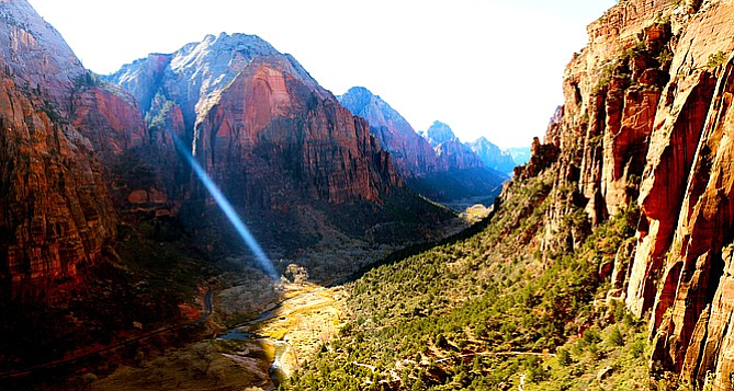 """Angel's Landing might be """"one of the most dangerous hikes in the United States"""" — still, you've got to see the view for yourself."""