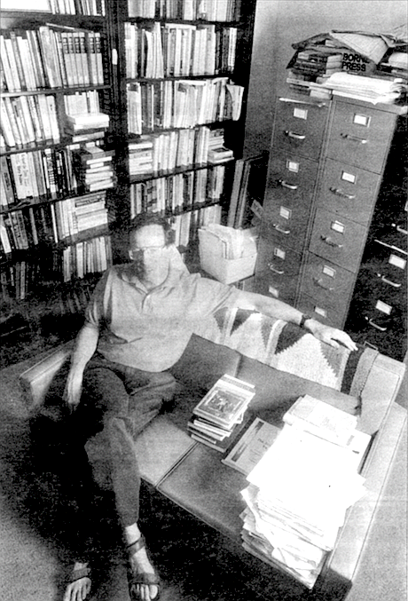 Michael Schudson at UCSD office