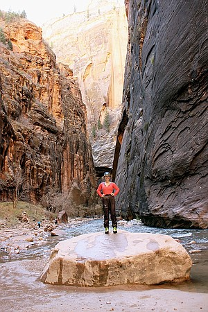 Zion's The Narrows hike.