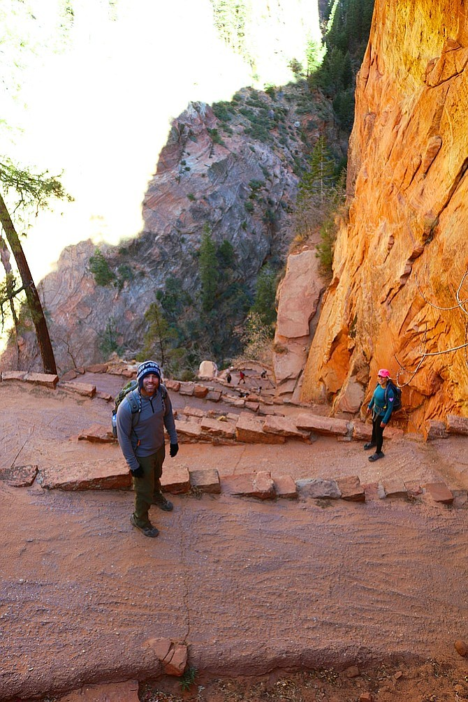 The Wiggles at Angels Landing.
