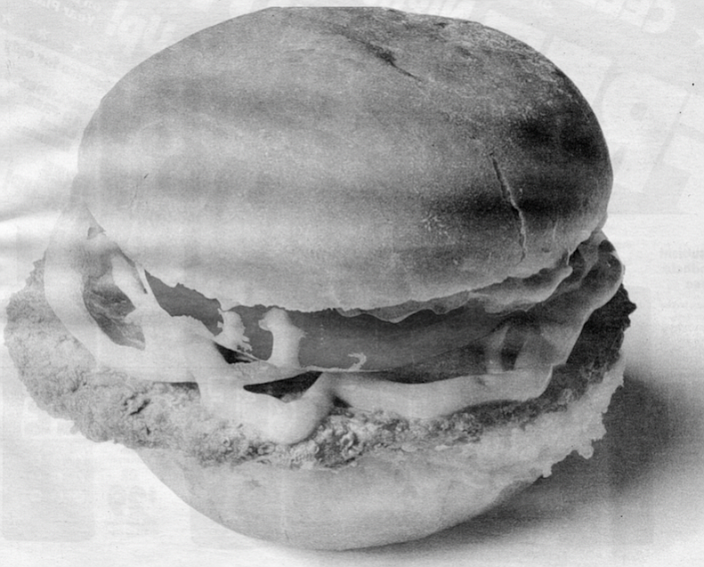I want a cheeseburger with a dense, unaerated bun, sweet as a kiss and solid as a high school girl's femur.