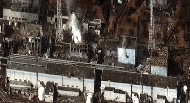 The Fukushima Daiichi Nuclear Power Plant after the 2011 Tohoku earthquake and tsunami