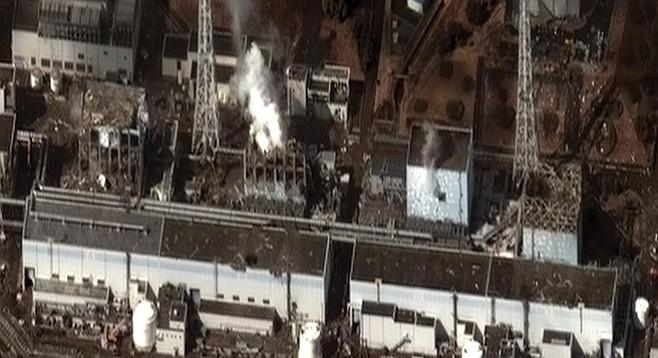 The Fukushima Daiichi Nuclear Power Plant after the 2011 Tohoku earthquake and tsunami