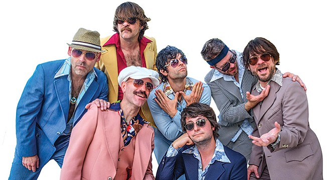 Yacht Rock Revue, the musical equivalent of TV's The Orville