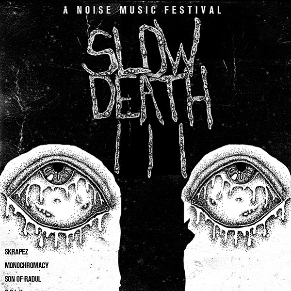 Slow Death III, the latest from experimental-musician Sam Lopez