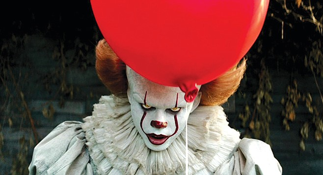 "Pennywise the Dancing Clown is not pleased that It is #2 on the ""must-avoid"" list for 2017."