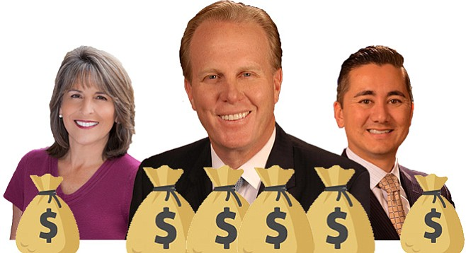 Sandag meetings are opportunities for Lorie Zapf, Kevin Faulconer, or Chris Cate to put some gravy on their salaries.