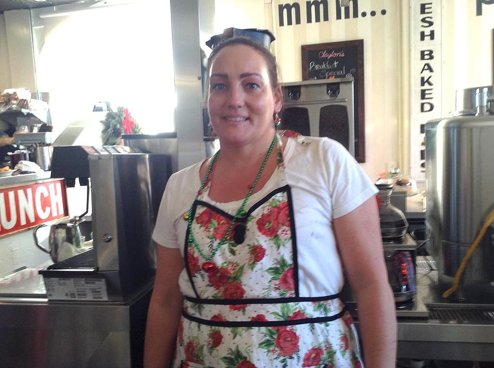 Cheryl, the head waitress