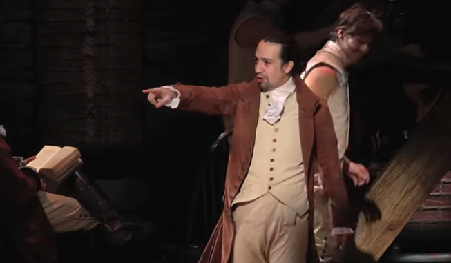 Composer and actor Lin-Manuel Miranda
