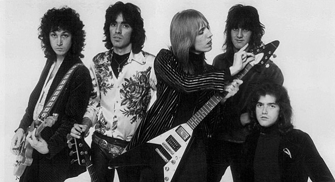 Tom Petty and the Heartbreakers promo photo, 1977